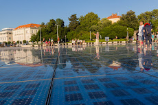 Big solar panel in Zadar