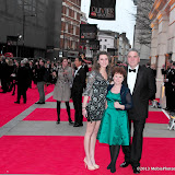 WWW.ENTSIMAGES.COM -   Bessie Carter, Imelda Staunton and Jim Carter     at      The Olivier Awards at Royal Opera House, Covent Garden, London, April 28th 2013                                               Photo Mobis Photos/OIC 0203 174 1069