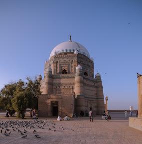 Shrine Hazrat Shah Rukan E Alam, Multan, Punjab