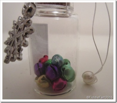 Tiny Jingle Bells Wish Bottle