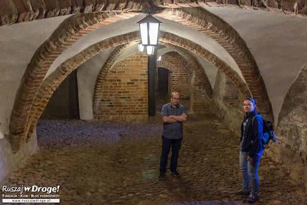 Pan Damian opowiedział nam o zamku w Lidzbarku Warmińskim