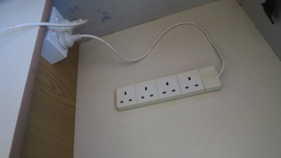 Four way adaptor