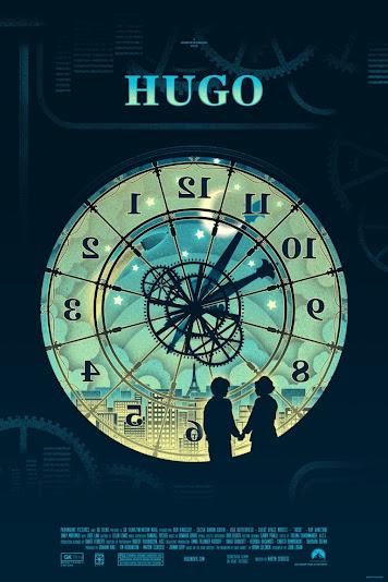 Plakat filmu: Hugo i jego wynalazek