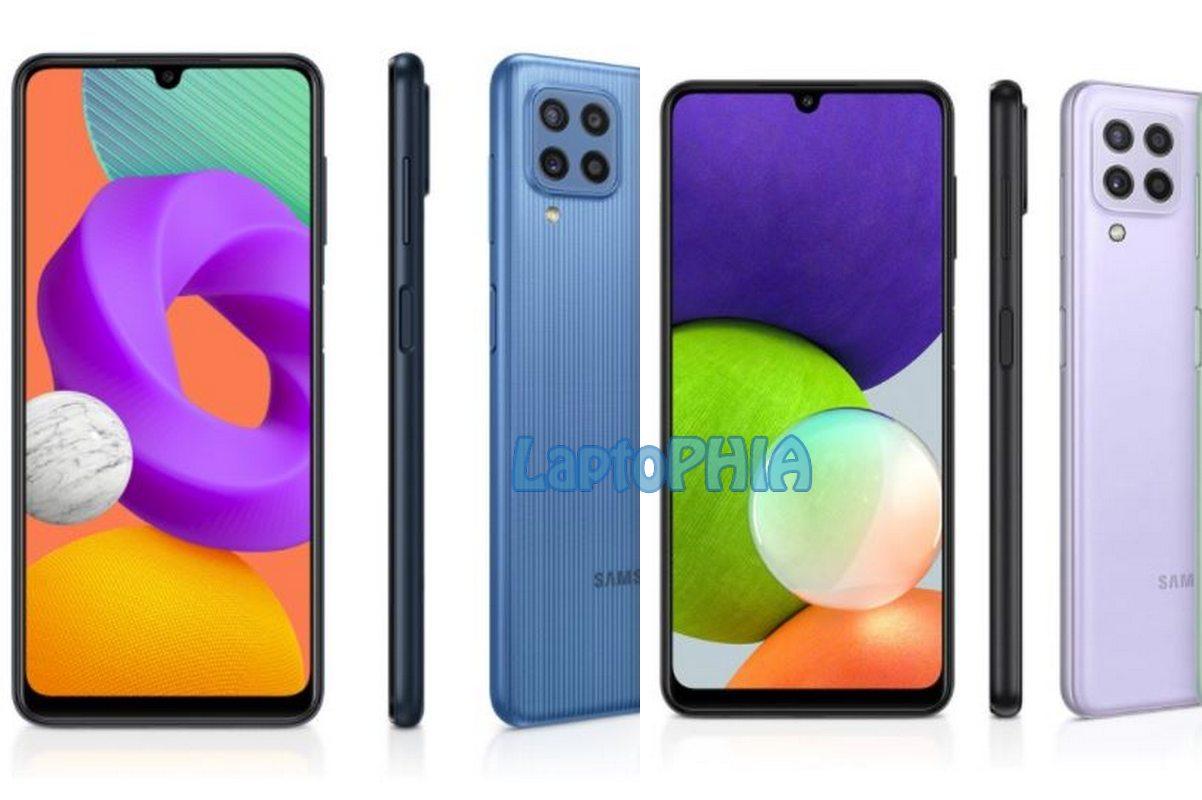 Perbedaan Samsung Galaxy M22 vs Samsung Galaxy A22: Harga Selisih 200 Ribu, Pilih Mana?