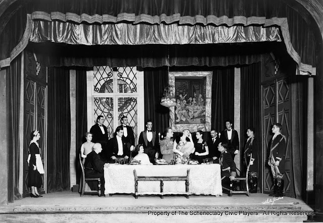 THE SWAN - December 1933.  Cast not identified.  Property of The Schenectady Civic Players Theater Archive.