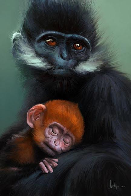 Имбирная обезьяна