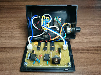タイマICとコンパレータによるPWM制御パワーパック