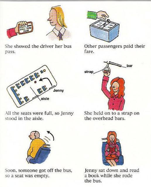 Tomar un diccionario de imágenes busEnglish para las actividades diarias