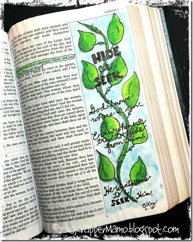 Bible Art Genesis 3-9