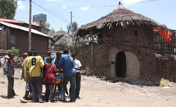 Photo: Villaggio, Lalibela
