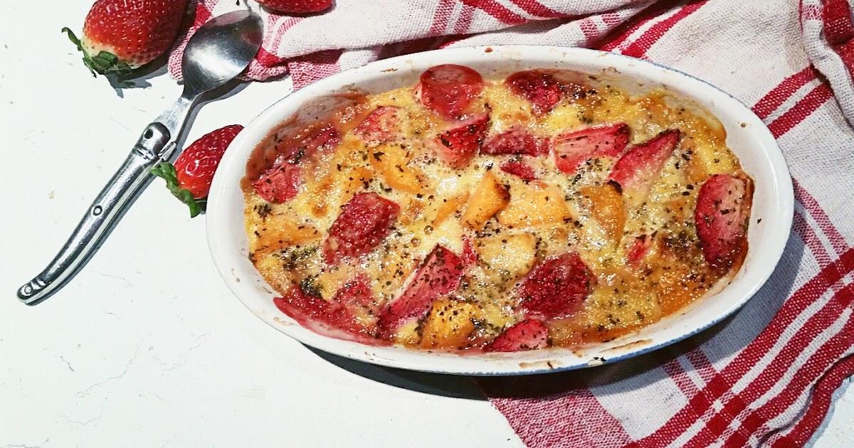 Saveurs d 39 ici cook enjoy recettes thermomix ou pas gratin de fraises et melon la poudre d - Mon thermomix ne pese plus ...