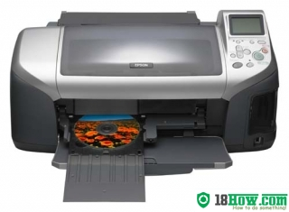 How to Reset Epson E-300 inkjet printer – Reset flashing lights error