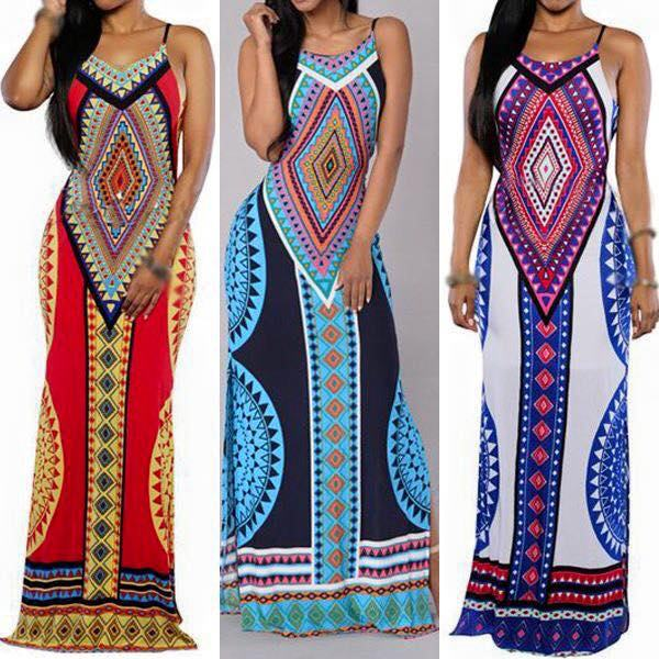 Styles  of African Attire Dresses 2017/ 2018