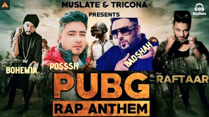 Pubg Rap Anthem with Game Play Video by POSSSH #Raftaar PUBG Rap #Badshah PUBG Rap, #Bohemia PUBG Rap