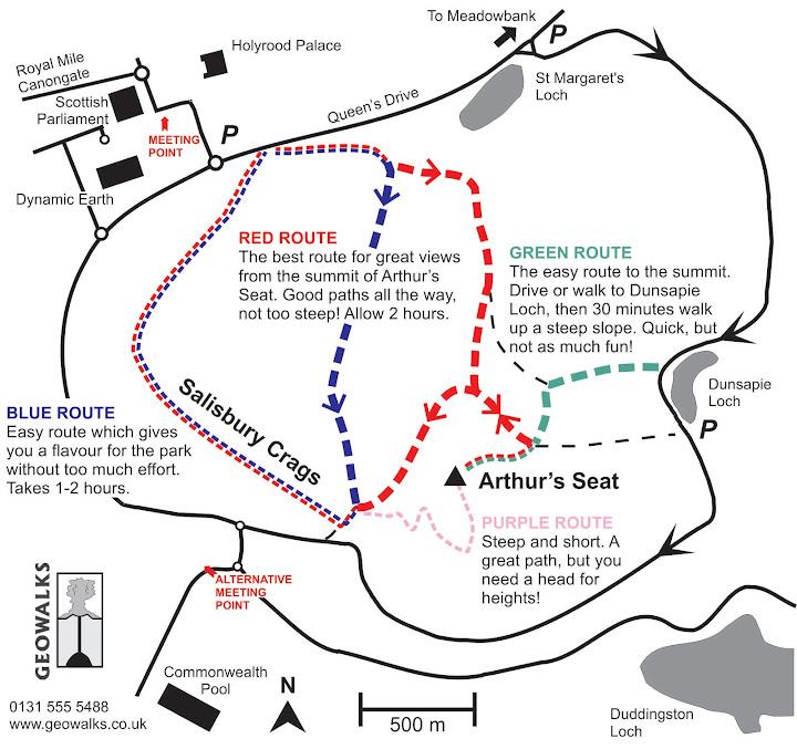 Un paseo hasta Arthur's Seat, Edimburgo