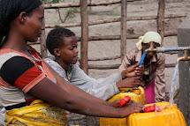 Zprostředkování pitné vody v Etiopii