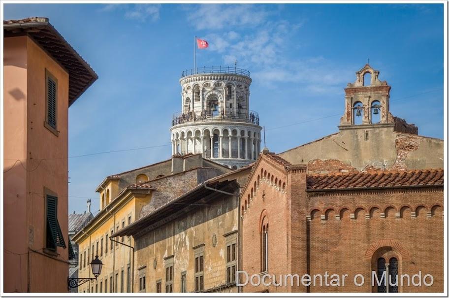 Pisa, atrações de Pisa,  Campo dei Miracoli, Batistério de Pisa, a Catedral de Pisa, Torre de Pisa