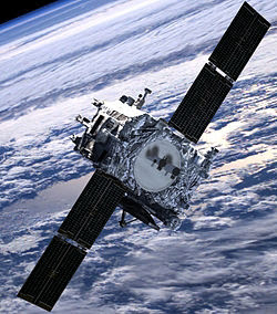 Artists-imprssion-of-the-satellite-in-space