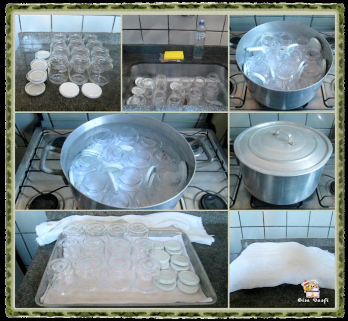 Esterilizando vidros de conserva 2