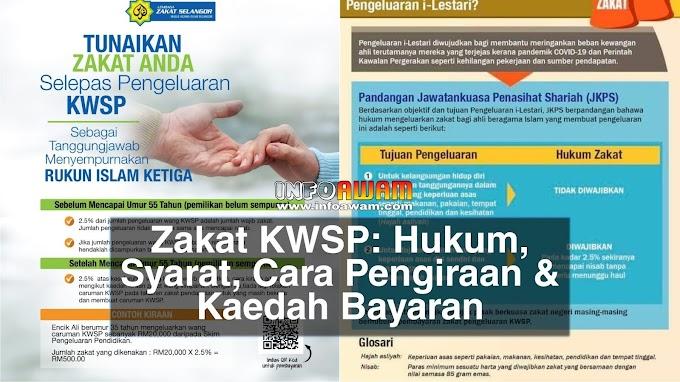 Zakat KWSP : Hukum, Syarat, Cara Pengiraan & Kaedah Bayaran
