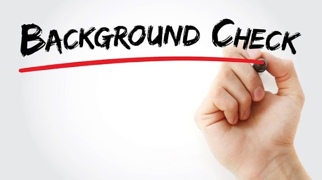 Preparing for a Background Check