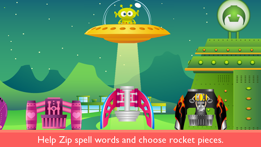 Rocket Speller PLUS screenshot