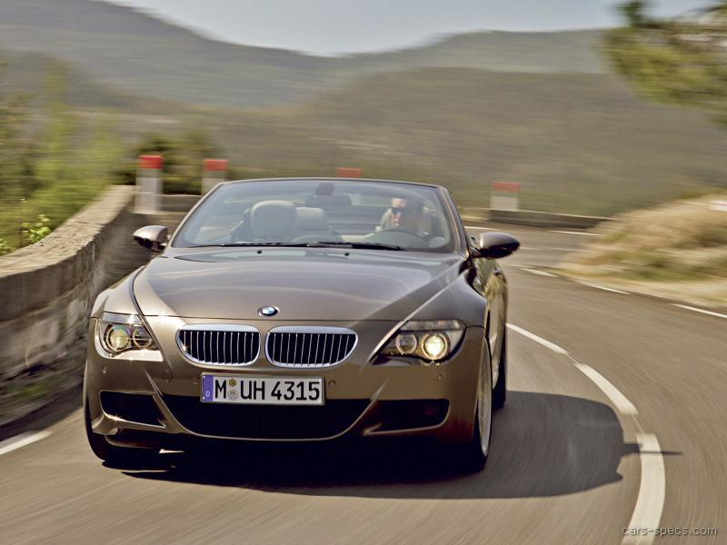 2007 BMW M6 Convertible Specifications, Pictures, Prices
