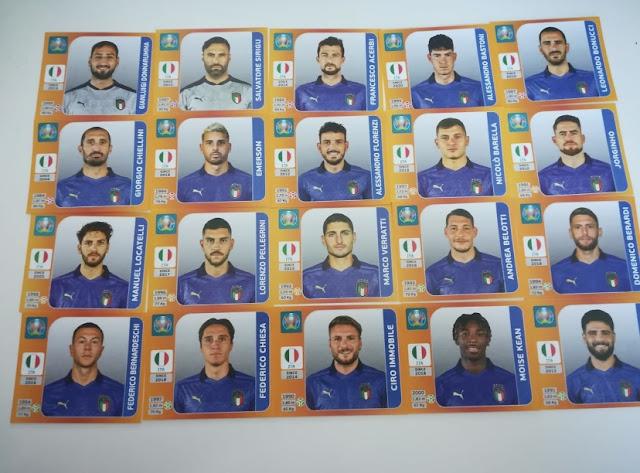 Figurine Italia Euro 2020