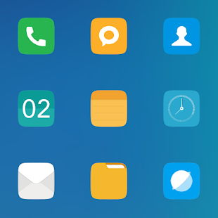 MIUI ORIGINAL - HD ICON PACK v7.6 [Patched]