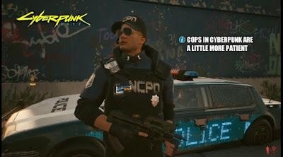 Polícia de Cyberpunk 2077