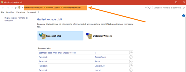credenziali-web-windows10