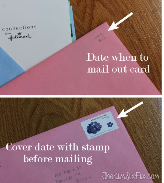 How To Never Forget To Mail A Greeting Card Again The Kim Six Fix