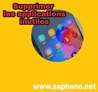 Supprimer et désinstaller les applications qui n'essuient pas sur  play store d'Android