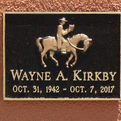 Interment of Ashes for Wayne Kirkby - June 8, 2018