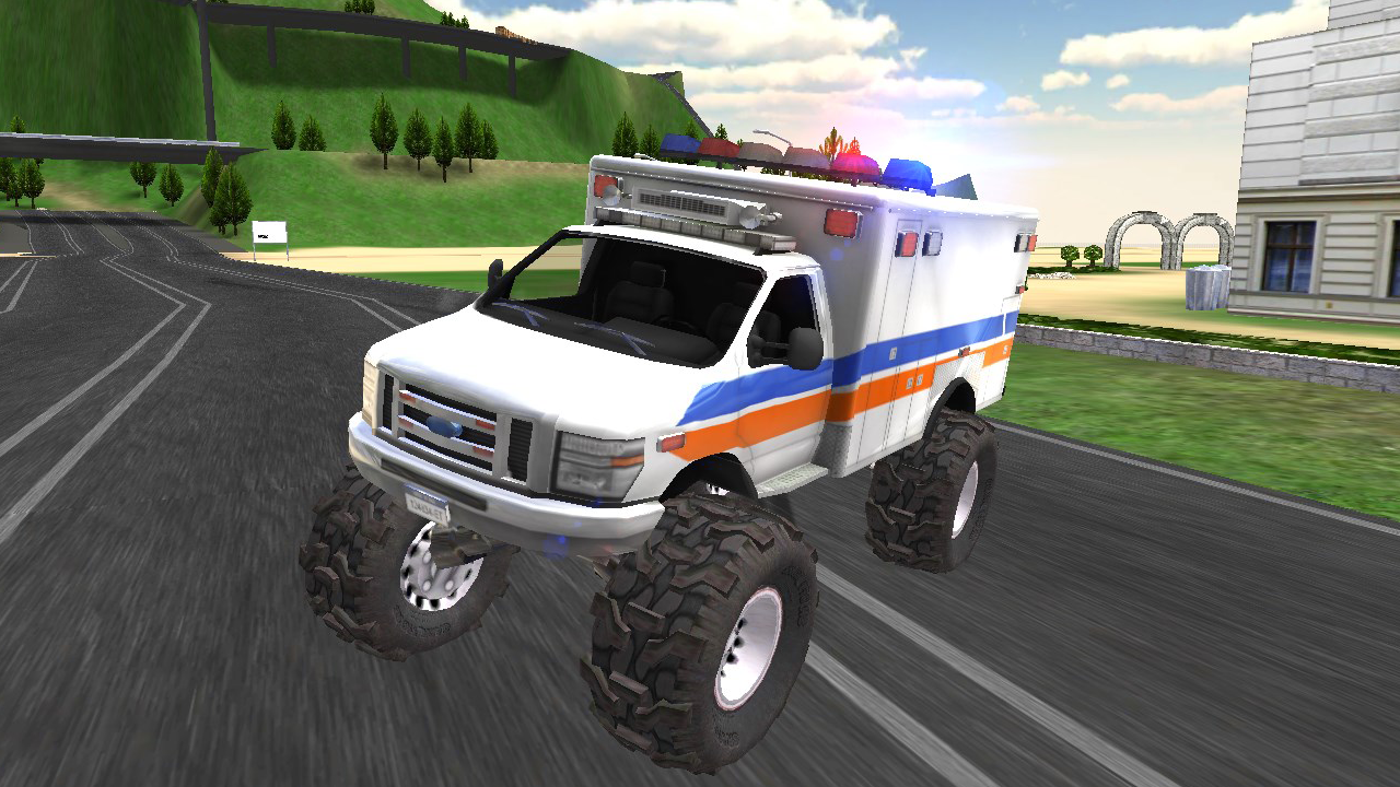 Monster Truck Driving Rally- screenshot