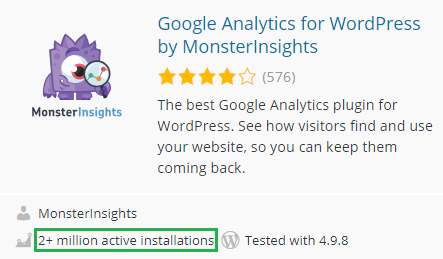 monsterinsights-installation-average-rating-details