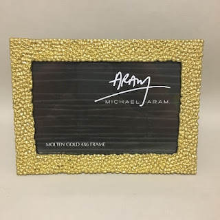 Michael Aram 'Molten Gold' Picture Frame