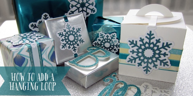 How to Add a Hanging Loop on Silhouette UK Blog by Janet Packer . Snowflakes by Lori Whitlock.