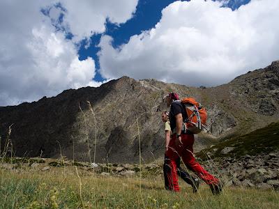 Tornem per la vall de Planès, amb la cresta que hem fet a la nostra dreta