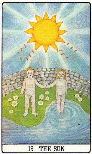 Солнце с другими таро