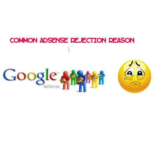 common adsense rejection reason