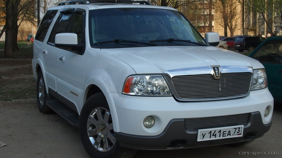 2005 lincoln navigator suv specifications pictures prices. Black Bedroom Furniture Sets. Home Design Ideas