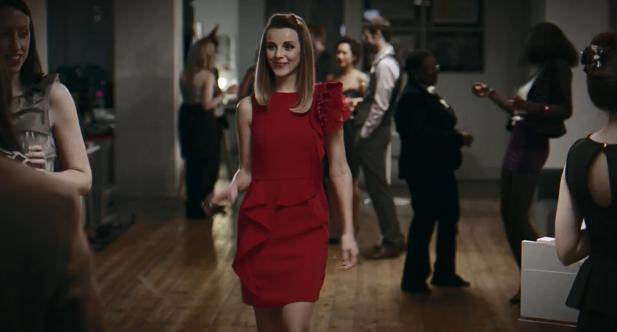 Harvey Nichols 2012 Same Little Red Dress Christmas Cat Fat Advert