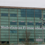 dutch filmacademy building in Amsterdam, Noord Holland, Netherlands