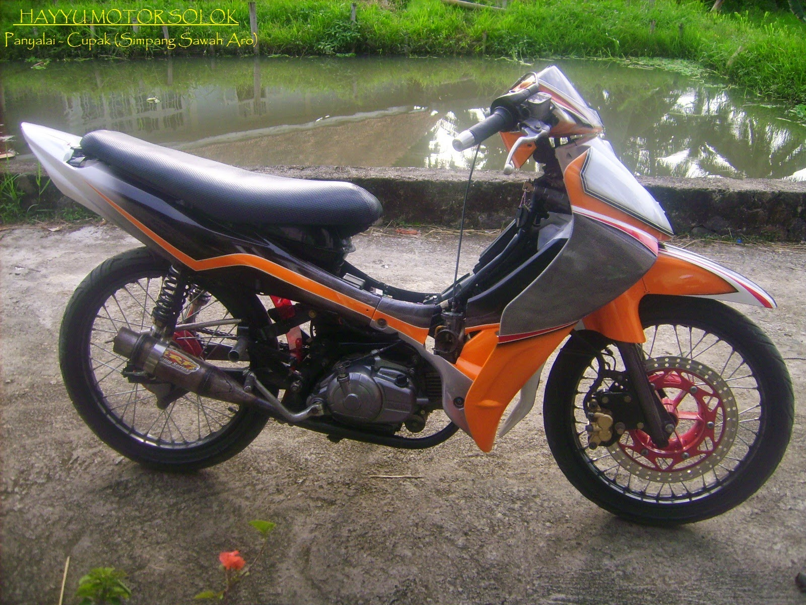 Motor Jupiter z Modifikasi Standar Motor Jupiter z Modifikasi