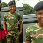Tears Flows Like River As Female Soldier Who Died A Day To Her Birthday Was Laid To Rest