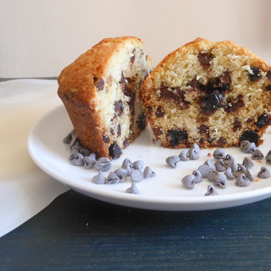 Blueberry Chocolate Chip Muffins Recipe