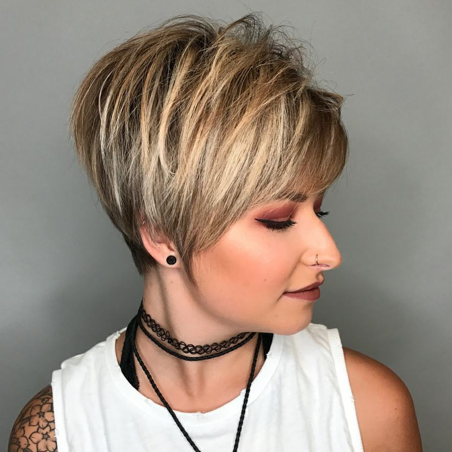 Short Haircut for Thick Hair Ideas & Color Options 2018 ...