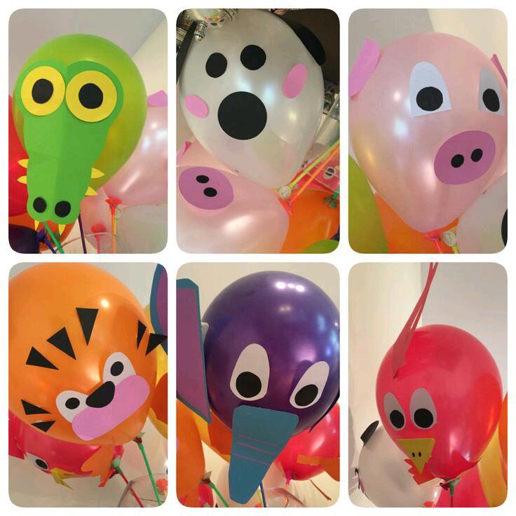 Crea Figuras De Animales Con Globos Comunes - Figuras-con-globos-faciles