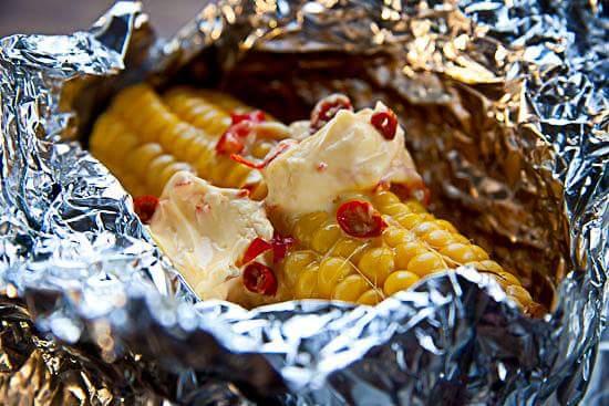 Barbecue Corn on the Cob